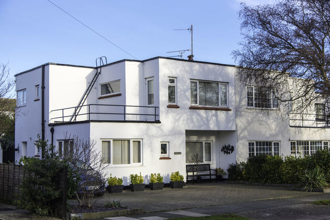 Architecture Art Deco Art Deco Architecture Art Deco Style Building Exterior Built Structure City Day House No People Outdoors Residential Building Street Tree