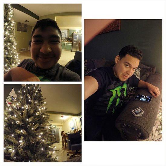 It's still Christmas for me, finally got my Go Pro Messing Gopro Hero4 Christmastree monsterlucky13