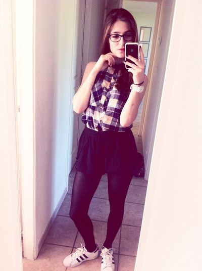 Ootd Hot Look Girl French French Girl