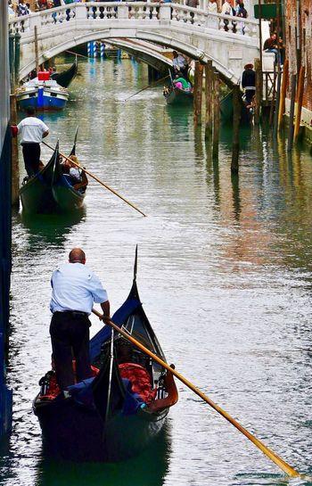 Nautical Vessel Journey In Venice