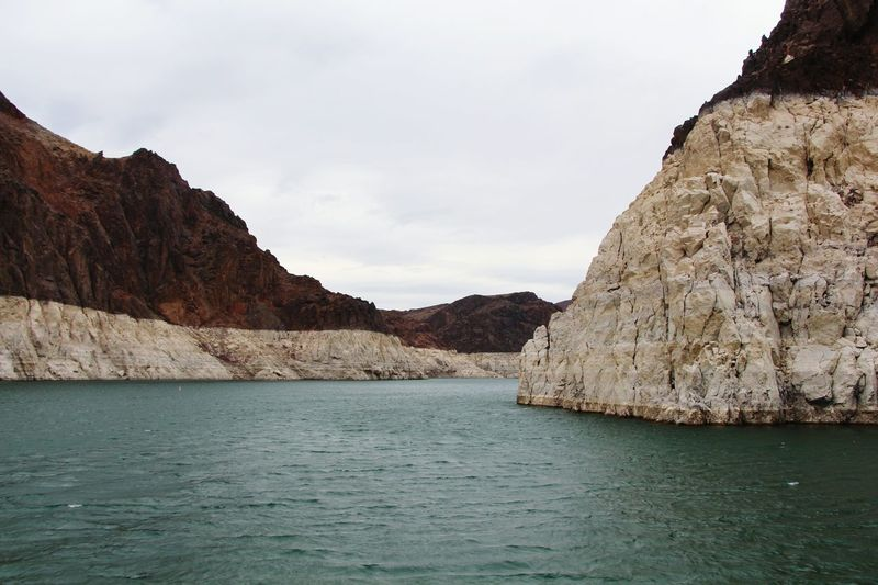 The beauty of Lake Mead is all about the colours of the Black canyon rocks...this lake cruise is just a breathtaking experience...Nevada/Arizona Lake Mead Lake Colours Nature_collection Nature Photography Nature_perfection Canyon Hoover Dam Dam The Great Outdoors - 2015 EyeEm Awards