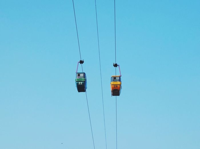 Gondola number 22 & 26 Minimalism Fujifilm