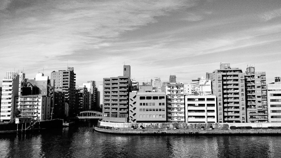 Buildings Architecture Architecturelovers Architecturephotography Architecture_collection Tokyo Japan Sumida River CoachTrip Day Trip Bnw Bnwphotography Bnwcollection Bnw_captures Bnw_world Bnw_tokyo Bnw_japan Travelphotography