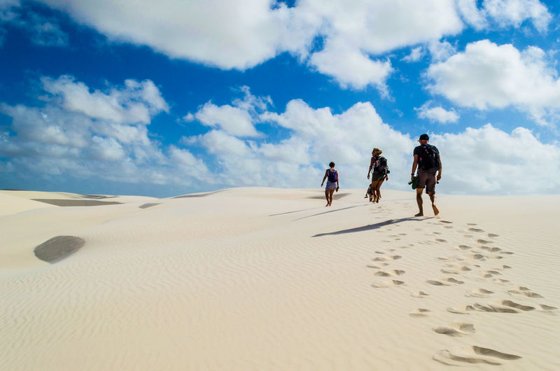 Hiking in the sky.... Cloud - Sky Clouds And Sky Quiet Moments Scenery Calm Tranquility Quiet Places Quiet Mystic Brazil Arid Climate Beauty In Nature Climate Cloud - Sky Day Desert Group Of People Idyllic Idyllic Scenery Landscape Leisure Activity Lifestyles Men Nature Real People Sand Sand Dune Scenics - Nature Sky Togetherness Trek Walking Visual Creativity Summer Exploratorium Summer Exploratorium This Is Latin America Focus On The Story #FREIHEITBERLIN Summer Road Tripping The Traveler - 2018 EyeEm Awards The Great Outdoors - 2018 EyeEm Awards Be Brave A New Perspective On Life It's About The Journey 2018 In One Photograph My Best Photo
