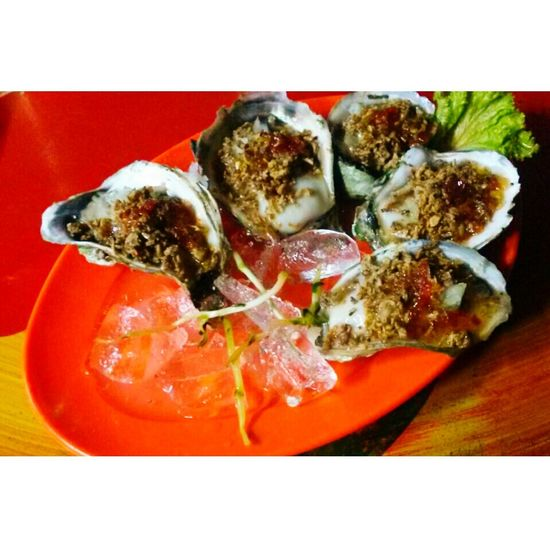 Oysters Oyster Time Eating Oysters Fresh Crunchycrunchy Delicious Food