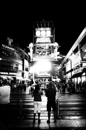 September of 2015, I found this as I was purging old files from my mac. I went there for a conference and got this shot one night on Fremont Street. Facing the zip line. Enjoy. Architecture Black And White Building Exterior Built Structure City Life Crowd Fremont Street High Contrast High Contrast Bnw Illuminated Large Group Of People Las Vegas Las Vegas NV Leisure Activity Night Nikon D7000 Outdoors Real People Zip Line