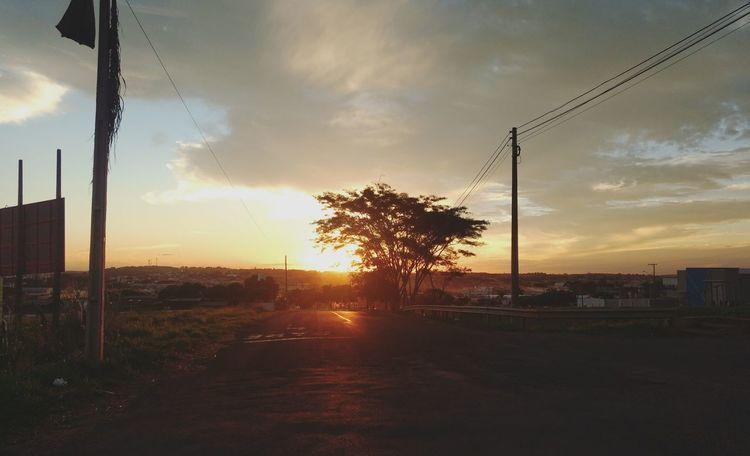 Sunset Cloud - Sky Sky Tree Silhouette Sunlight No People Nature Day