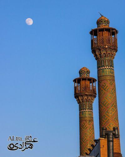 First Eyeem Photo Esfahan Esfahanziba Iran Photography Moon Sky