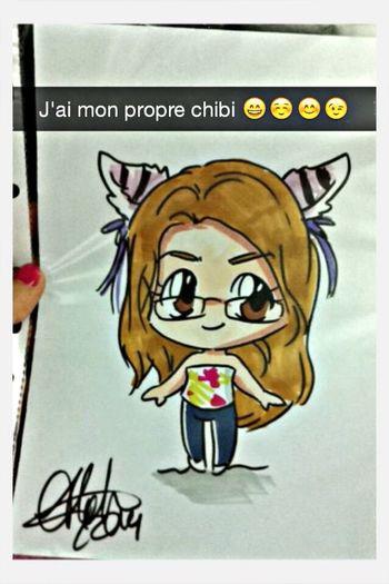 J'ai le mien maintenant Chibi Manga Japan Expo