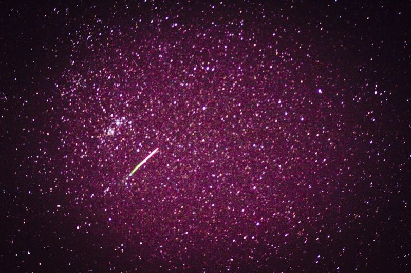 Astrophotography Meteor Meteor Shower Stars Starscape Stars At Night Night Night Photography Universe Astronomy Astronomer Edited Star Clusters Space Perseids Perseid Meteor Shower Deep Space Long Exposure Practicing Photography PracticeMakesPerfect Lucky Shot