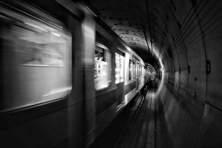 Blackandwhite Monochrome Light And Shadow Enjoying Life Subway Tokyo