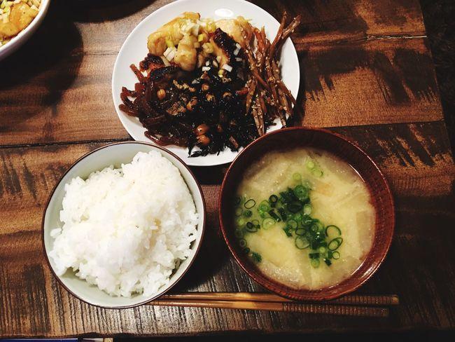 3月23日(水) 夕食 Dinner 和食