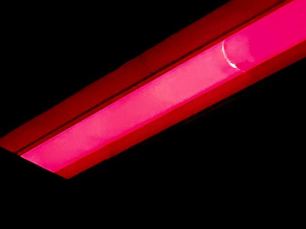 Light outside convenient store Red Light Really Red Hot Red Hot Pink Red And Black Bright Colors Angles And Lines Diagonal Lines Red Black Color Black Background Illuminated Close-up No People Science Neon Night