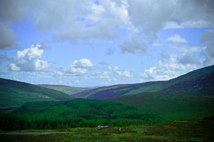 Wicklowgap Ireland Mountains Nature