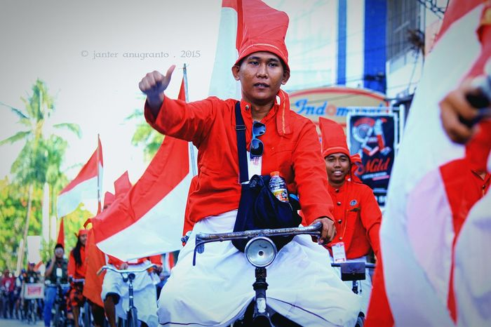 Edition Independence Of The Republic Of Indonesian In 1945-2015 . By Janter Anugranto ... Independence Day Kemerdekaan Indonesia MERAH PUTIH INDONESIA Sulawesi Selatan Makassar INDONESIA Asian  1945_2015