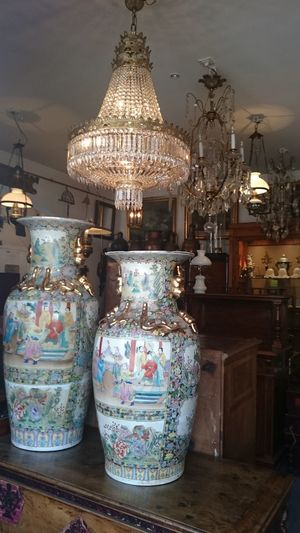 Art Chinois Art China Porcelain  Porcelana ☕