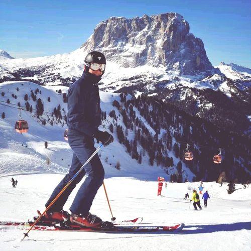 Saslong Dolomites Skiing Paradise
