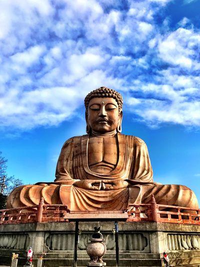 Day Sky 日本 空 Japan 愛知 Aichi いいてんき イマソラ あおぞら 青空 衆楽園 大仏様 大仏 Greatbuddha