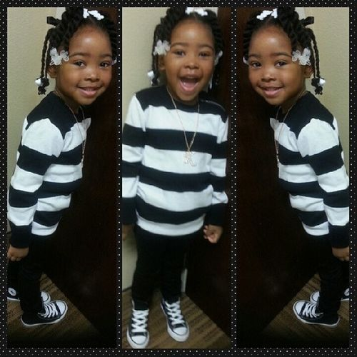 My lil diva is ready! Mommybaby