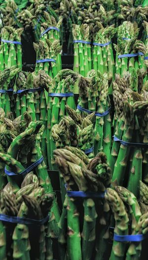 Close-up of fresh asparagus