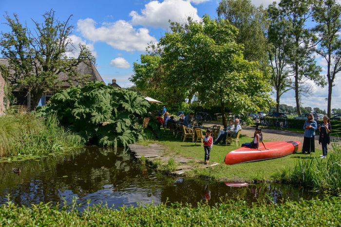 Waterland cycle route in Overijssel, Holland Netherlands Overijssel The Netherlands Waterland Fietsroute Weerribben Weerribben Wieden Day Holland Outdoors Waterland