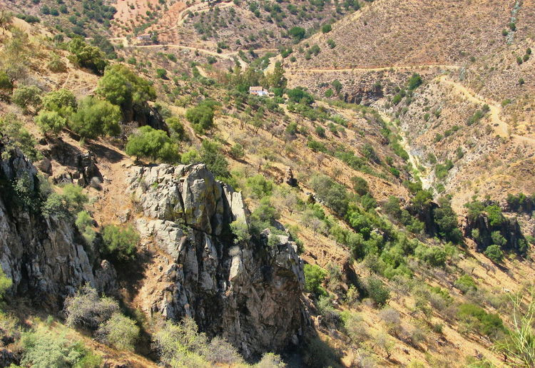 Spot our house. Los Conejos Arroyo Jevar Campo House Spanish Landscape Andalucia Spain Where We Live Birds Eye View Andalucia Rural