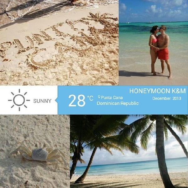Paradise KaMogoingtoparadise Kamo Newlyweds ilovemyhusband Honeymoon2013 sun beach sand ocean cocnuts PuntaCana Dominicana DominicanRepublic PhotoGrid photooftheday instadaily instatravel