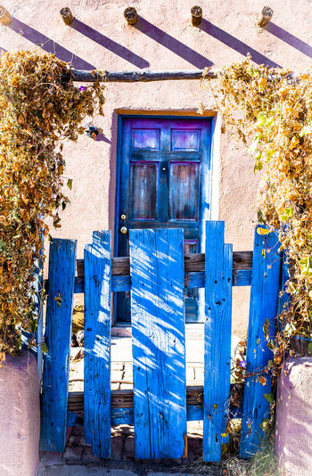 Open your door Door Doors Doorway Doorporn Doors Lover Door_series Las Cruces New Mexico Blue Door