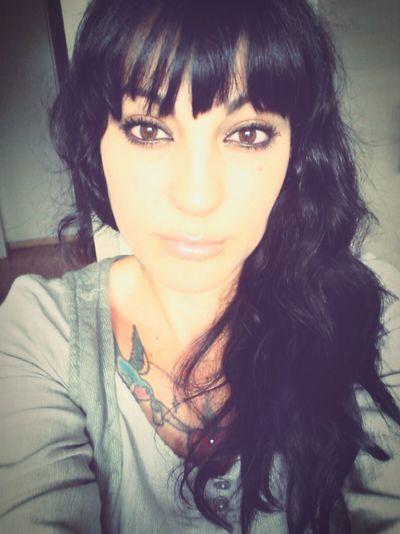 Woman Face Big Eyes That's Me Hi! Hello World Strange Face Metissage