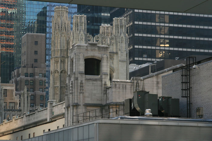 Architecture Big Apple Building Exterior City Façade New York Office Building Reflection Rooftop Urban USA
