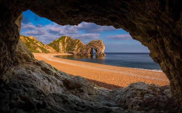 Durdle Door Durdle Door Dorset Uk Coast Cliff Cave Limestone Arch Natural Beauty Nature Seascape Seaside Jurrasic Coast Purbeck Beach Landscape_photography Southwest  Miles Away The Great Outdoors - 2017 EyeEm Awards BYOPaper!