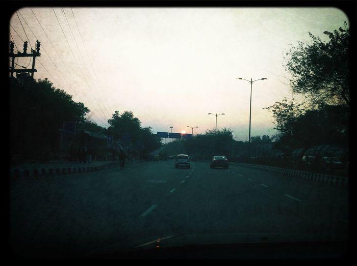 Driving at Lodhi Road OverBridge Driving