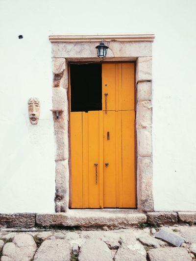 Paraty-RJ Architecture Yellow Door Traveling