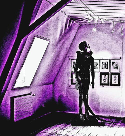 Alien Giger Giger Art Alien World Silhouette Architecture Built Structure Focus On Shadow