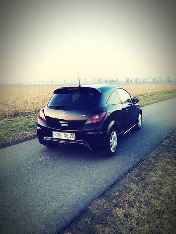 Car Transportation Adventure Day No People Outdoors Racecar Corsa OPC Opel