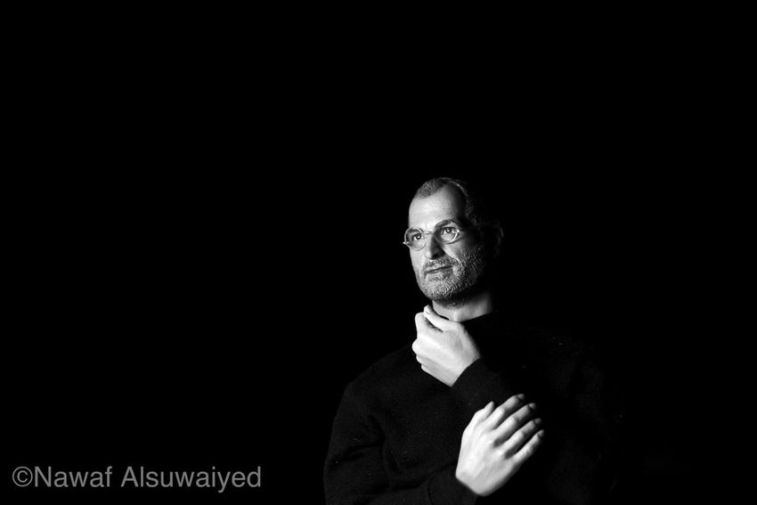 Blackandwhite Portrait Steve Jobs