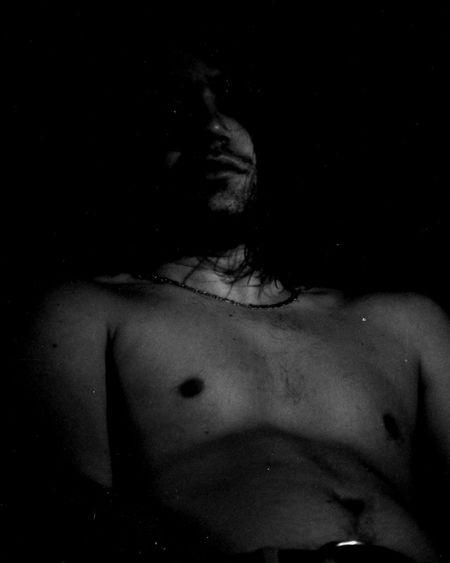 Black Background Body Part Human Skin Human Face
