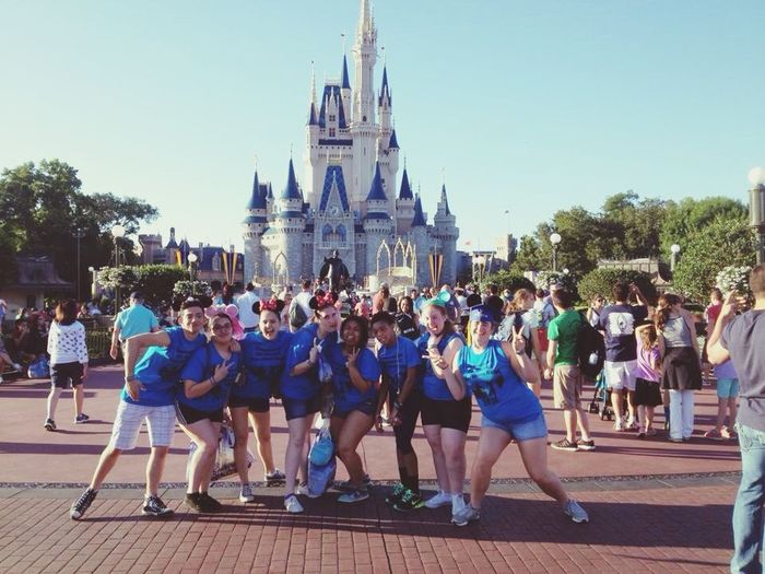 TBT  Disney Marching Band Colorguard