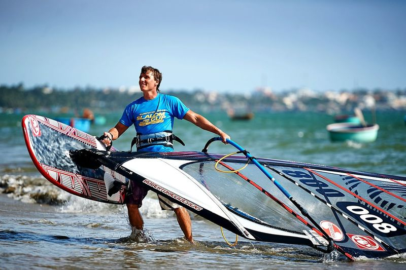 My Friend on Surf4you Slalom Cup, Windsurfing Water Reflections Life Is A Beach Lifestyle Enjoying Life Water Sport