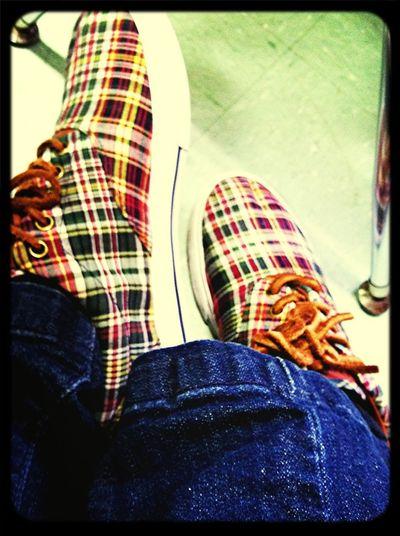 Wearing my polo's....