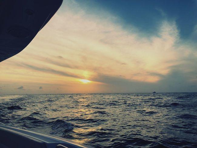 Sea Sunset Water Sky Travel first eyeem photo