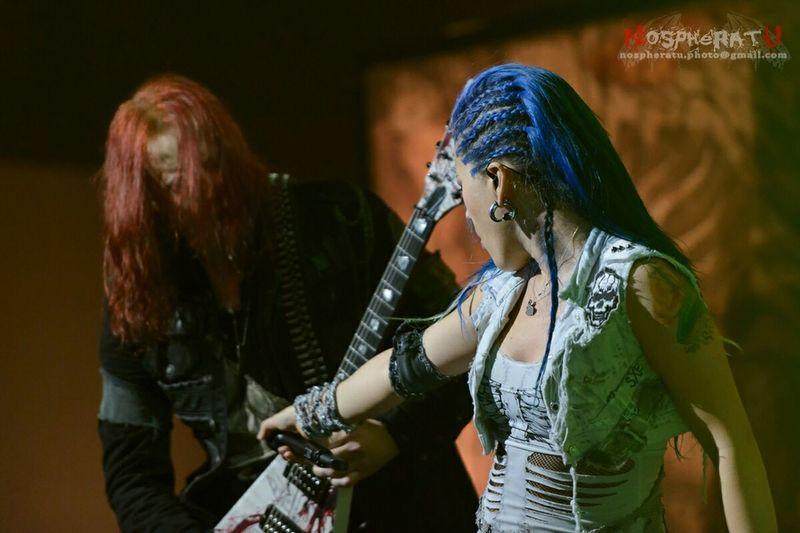 Arch Enemy at Tele-Club, Yekaterinburg @03.10.2014 Concert Arch Enemy Tele-club