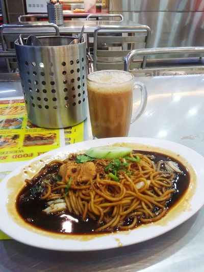 Freshness Food And Drink Healthy Eating Ready-to-eat Food Indoors  Close-up Mee Goreng Mamak Mee Goreng Malaysia Good
