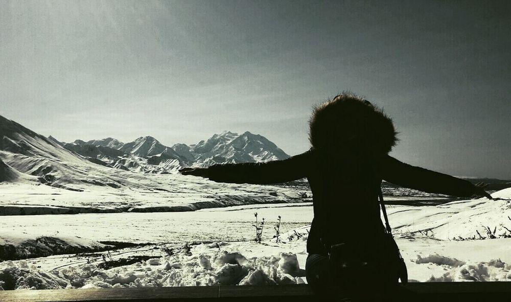 Alaskan Nature Alaska Trip Mountain Nature Snow Denali National Park & Perserve Alaska Life Me :)
