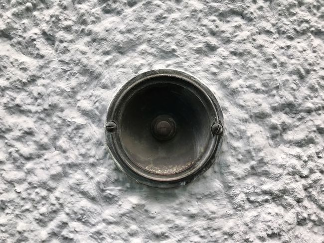 Door Bell Bell Metal No People Architectural Feature Day Close-up