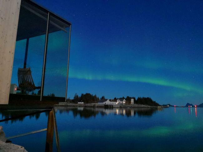 Manshausen, Norway Architecture Aurora Borealis Norway Manshausen Blue Sky Building Exterior