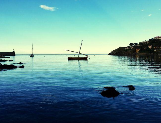 Water Sky Transportation Scenics - Nature Nautical Vessel Blue Sea