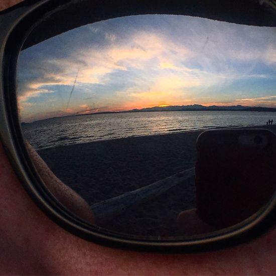 Reflection Sky Nature Horizon Over Water Sunset Outdoors