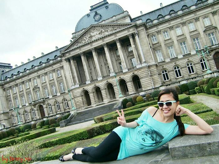 Royal Palace Bruxells Relaxing Peace And Love Royal Palace Architecture