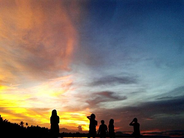 Travel Photography Silhouettes Nature Sunset Silhouettes EyeEm Nature Lover @ Siquijorisland Philippines May 2015